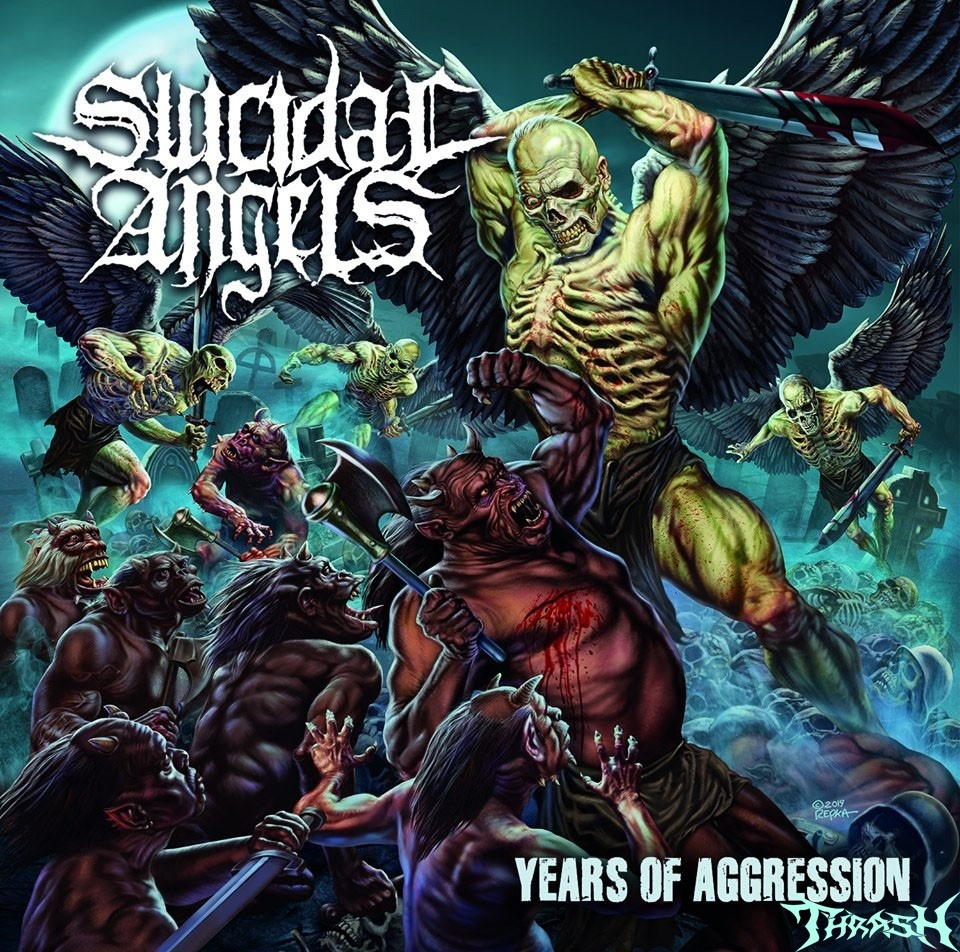 SUICIDAL ANGELS - Years of Aggression # 2019