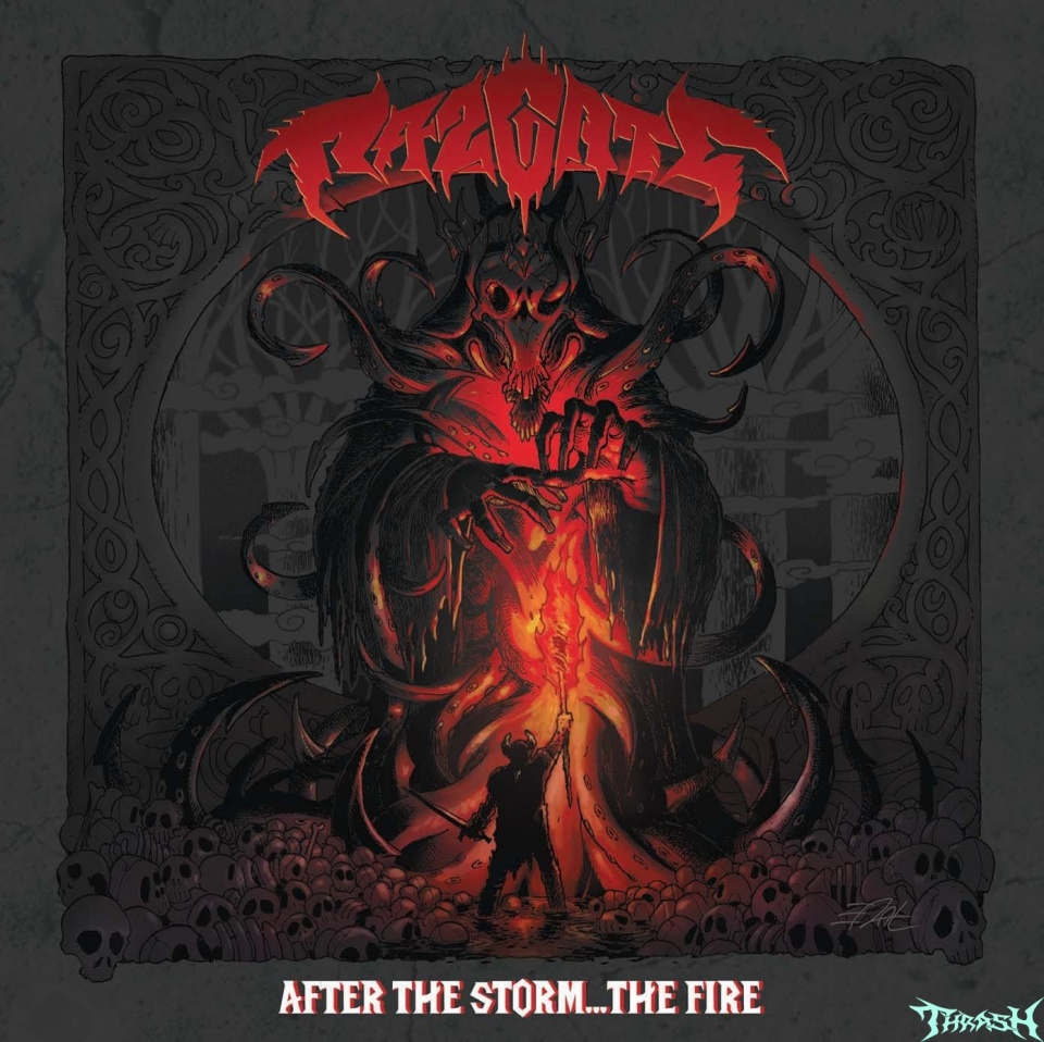 RAZGATE - After The Storm... The Fire! (2020)Итальянские трэшеры Razgate выпускают третий альбом 27 марта на  Punishment 18 Records.  Правда сдаётся мне,что из за вируса,выпуск будет перенесён.Tracklist:01. Lacrimosa Dies02. Rising Death03. Broken By Fire04. After The Storm05. Grinding Metal06. Shredding Praise07. Behind The Walls Of Terror08. To The Rope!09. Bloodshed & Deliverance10. Crucify (The Master Deceiver)