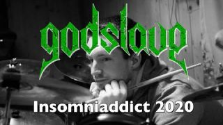 "GODSLAVE ""Insomniaddict 2020"" - Recorded live in the Studio exclusive Single"