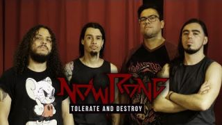 Nowrong - Tolerate and Destroy (Official Lyric Video)